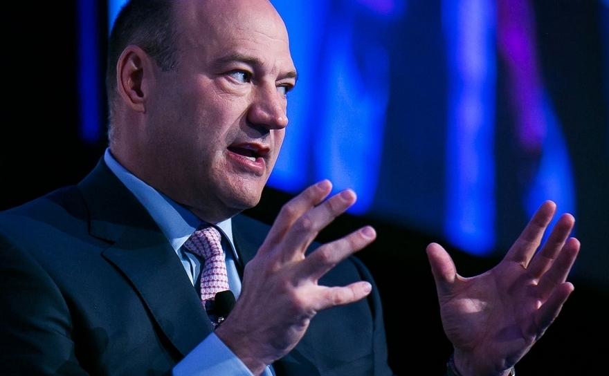 Gary Cohn, preşedinte şi director de operaţiuni la Goldman Sachs.