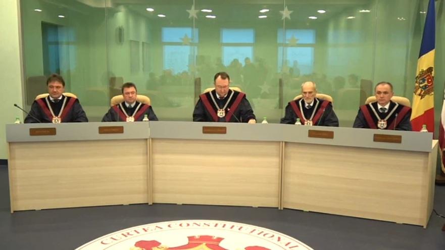 Magistraţii Curţii Constituţionale din Moldova