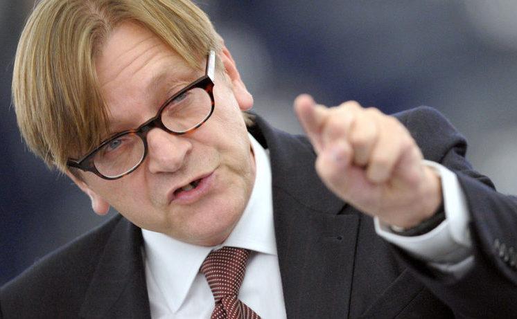 Europarlamentarul Guy Verhofstadt