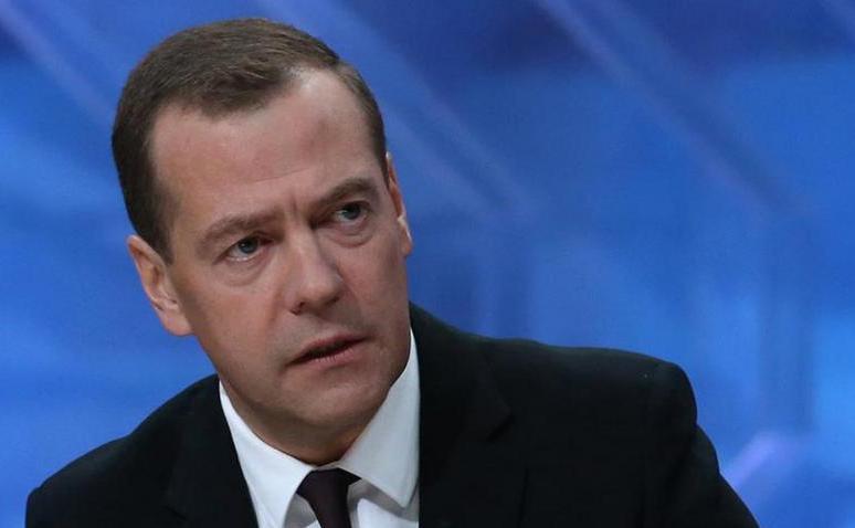 Premierul rus Dmitri Medvedev.