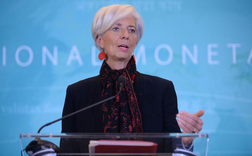 Christine Lagarde, directoarea FMI.