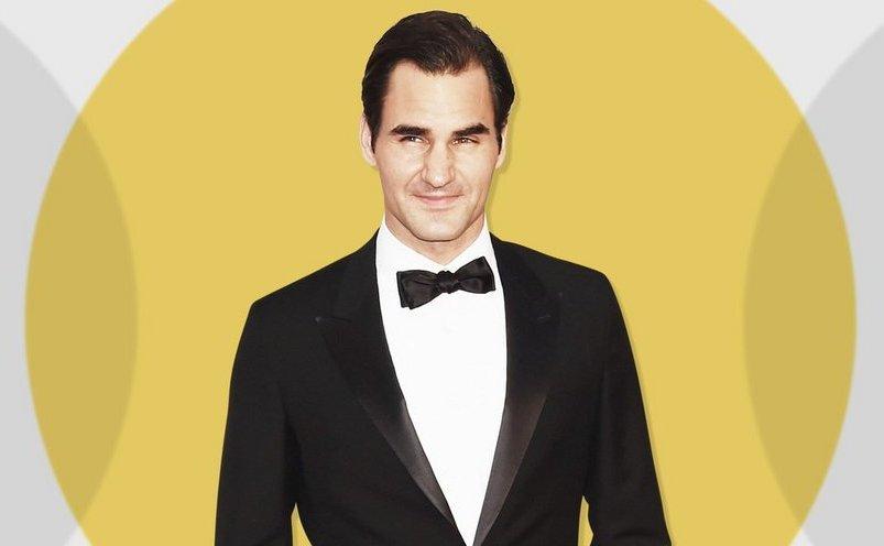 Jucătorul de tenis elveţian Roger Federer.