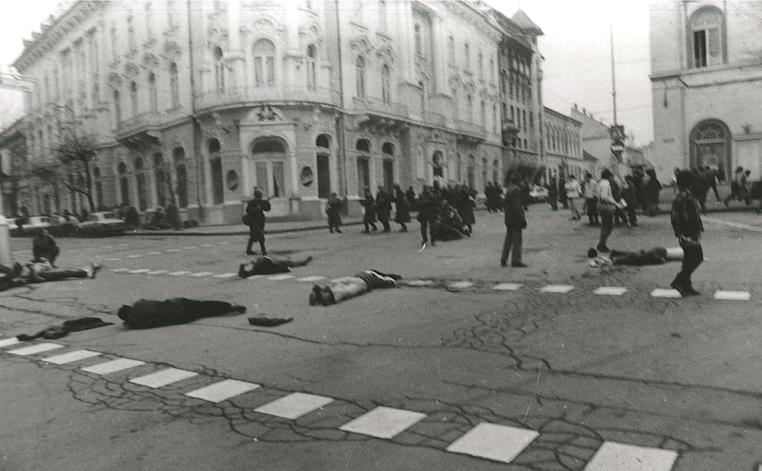 Victime din timpul evenimentelor din decembrie 1989, Cluj.