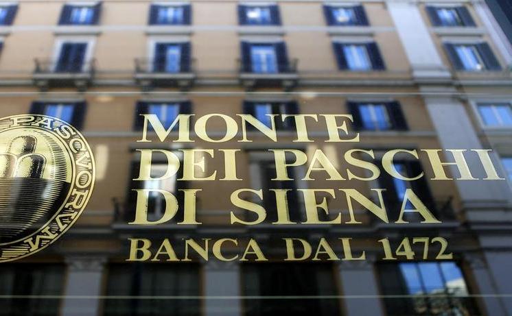 Banca italiană Monte dei Paschi di Siena.