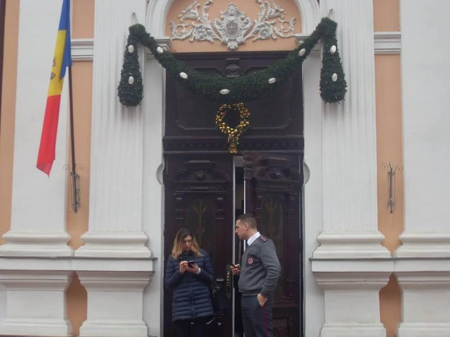 Clădirea Preşedinţiei RM