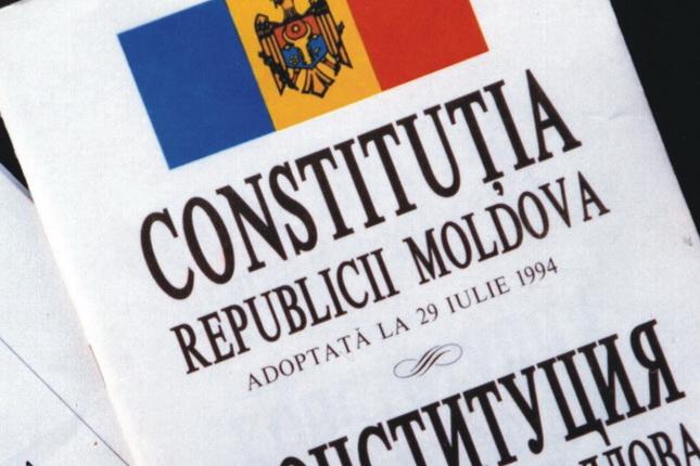 Constituţia Republicii Moldova.