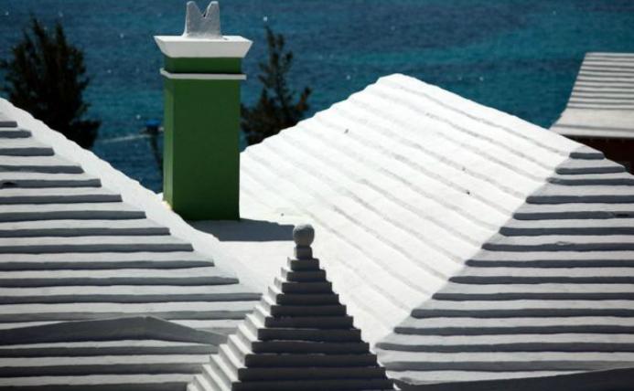 Acoperişurile caselor din Bermuda