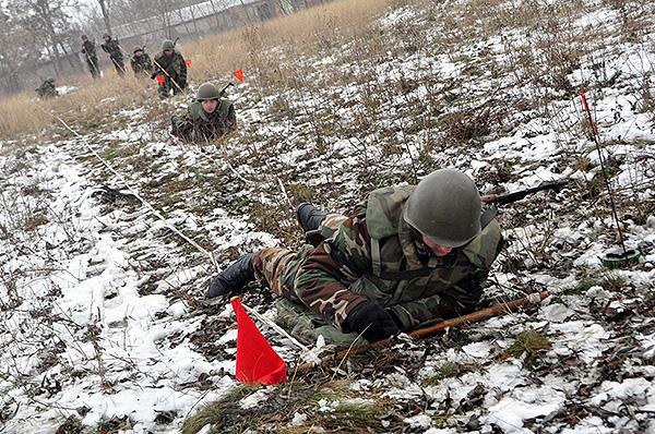 Militari ai Armatei Naţionale din Moldova. Foto simbol.