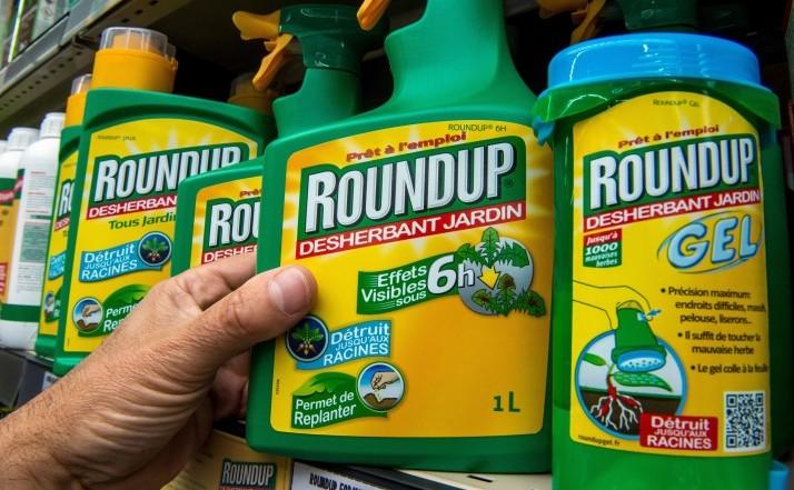 Ierbicidul Roundup de la Monsanto.