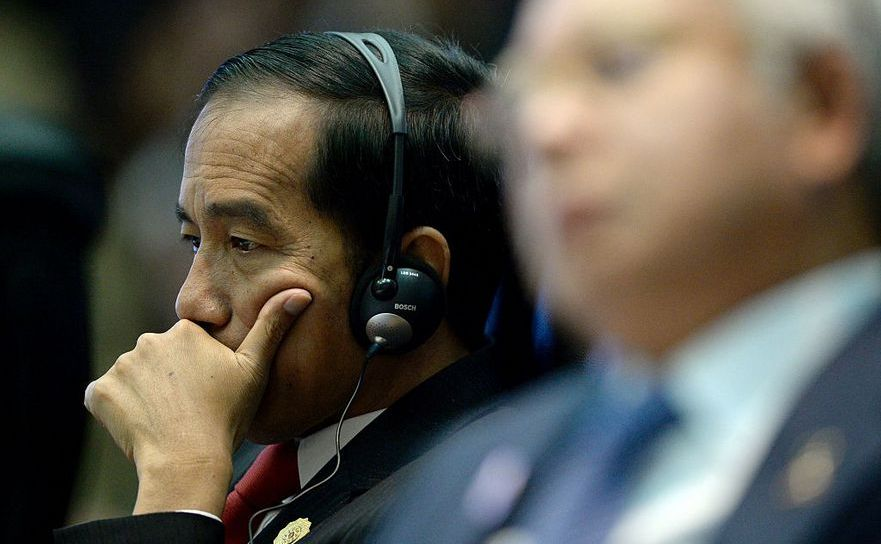 Preşedintele indonezian Joko Widodo