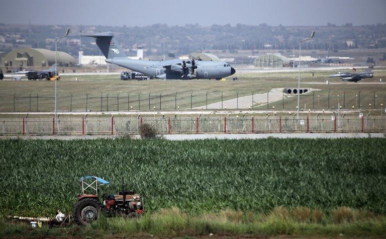 Baza Aeriană de la Incirlik, Turcia.