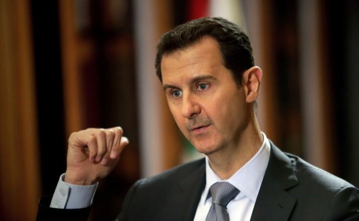 Preşedintele sirian Bashar al-Assad.