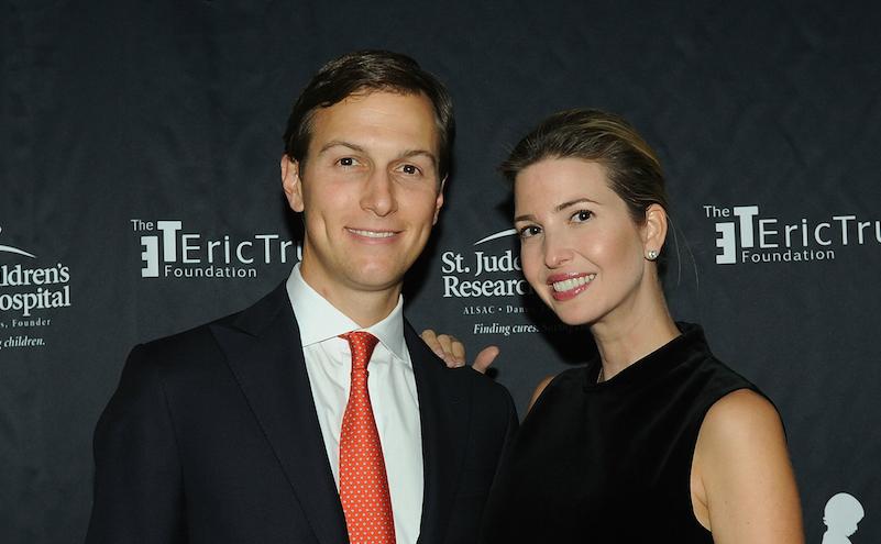 Jared Kuschner împreună cu Ivanka Trump