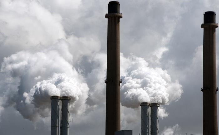 Centrală electrică pe cărbune.