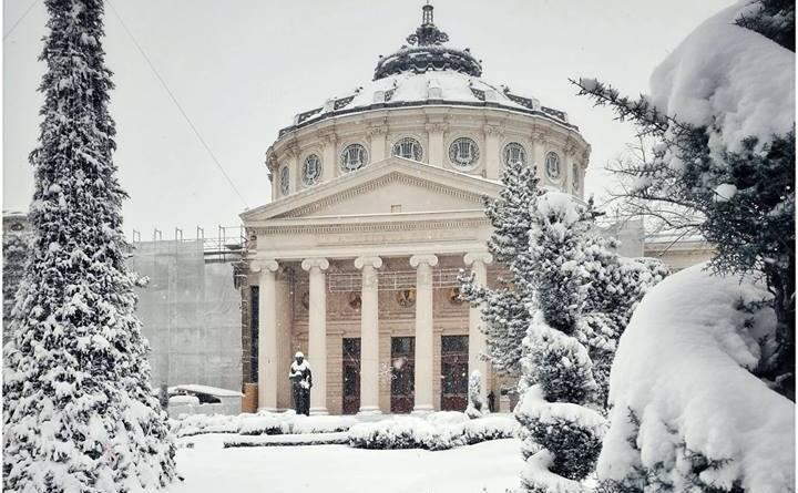 Ateneul, iarna