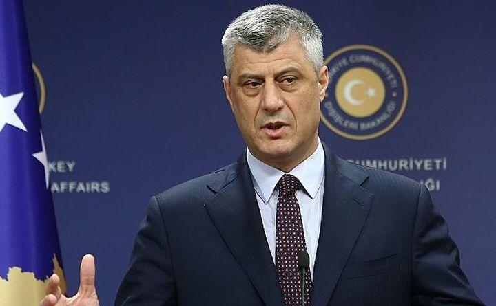 Preşedintele kosovar Hashim Thaci.