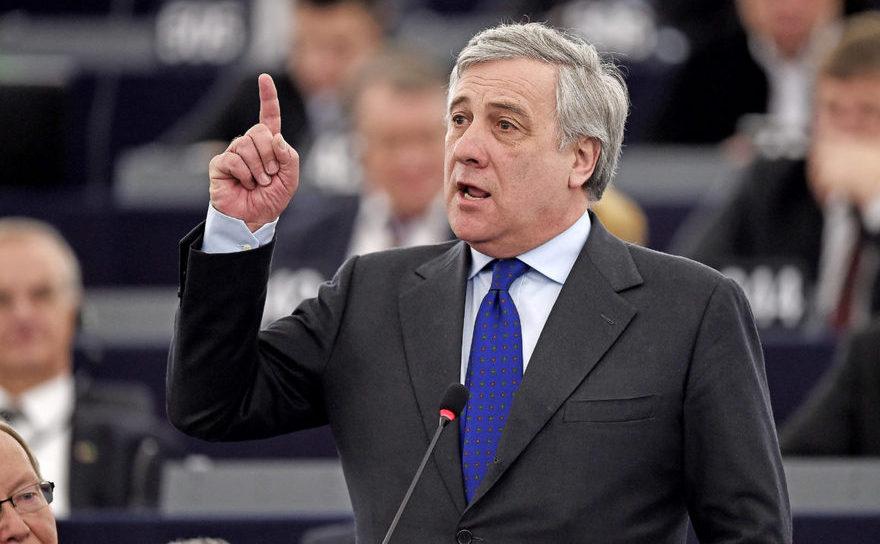 Antonio Tajani, noul preşedinte al Parlamentului European.