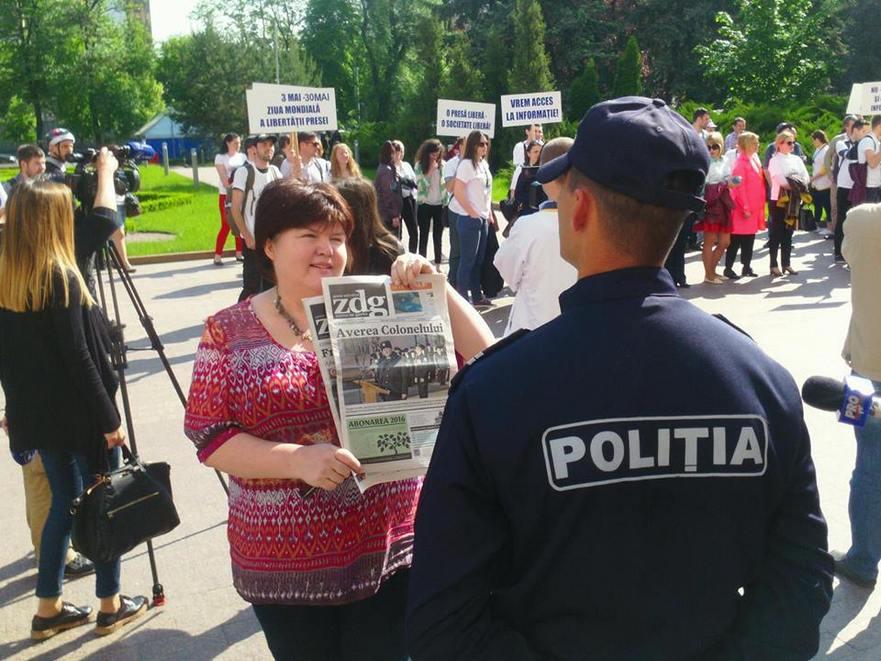 Ziarista de investigaţie Alina Radu