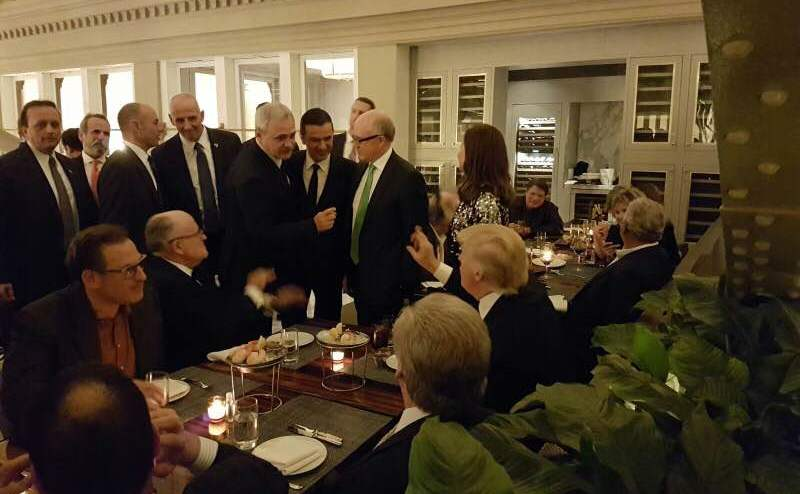 Dragnea şi Grideanu, în preajma lui Trump