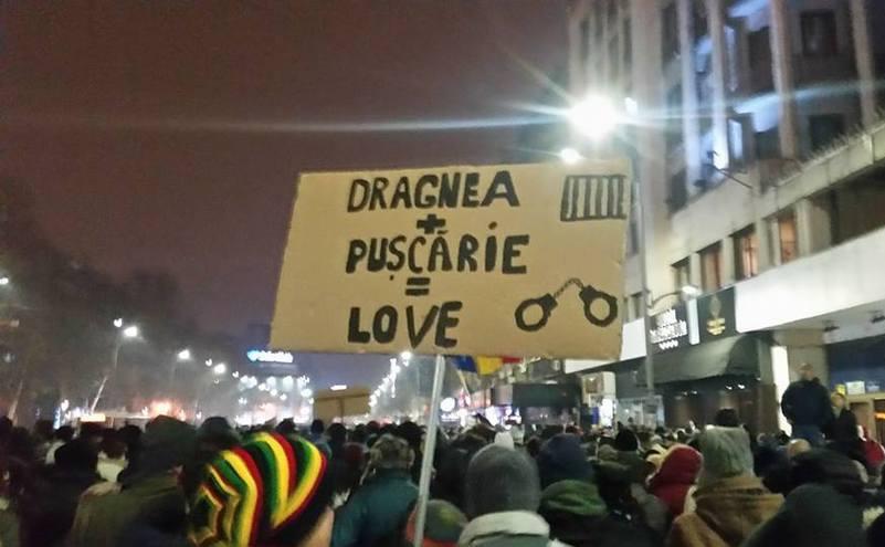 """""""România, trezeşte-te!"""" - Protest contra ordonanţei graţierii şi mutilării Codului Penal"""
