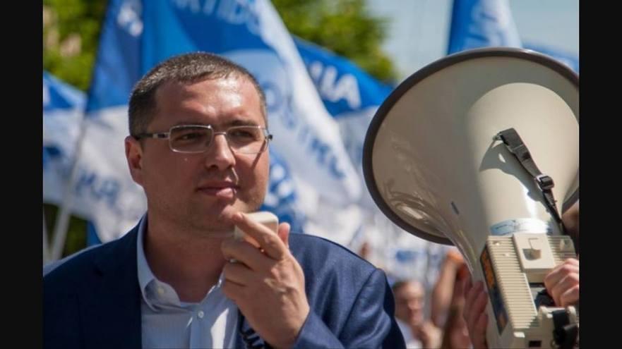 Liderul fracţiunii Partidul Nostru, Renato Usatîi