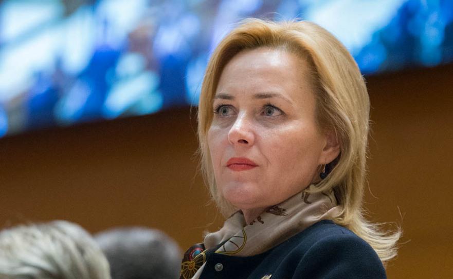 Ministrul de Interne, Carmen Daniela Dan.