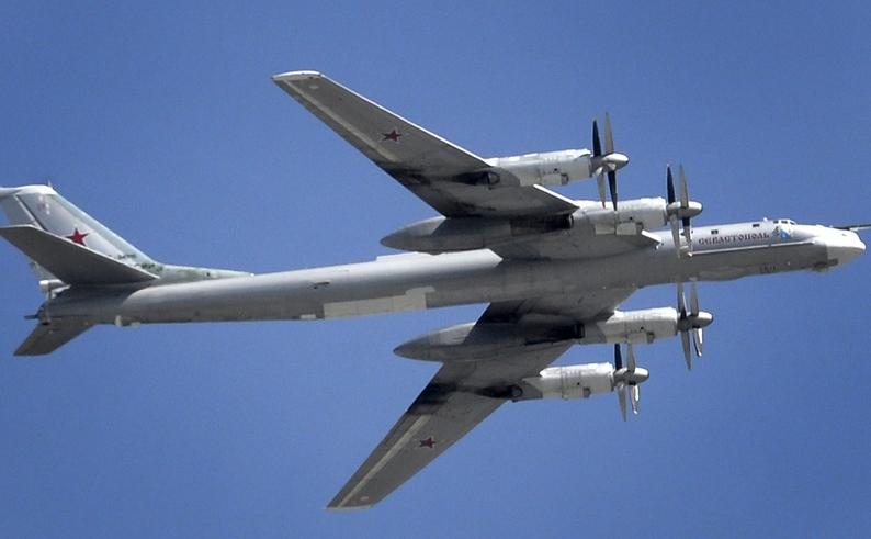 Bombardier rusesc Tu-95 Bear.