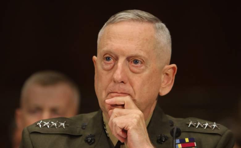 Secretarul american al apărării, James Mattis.