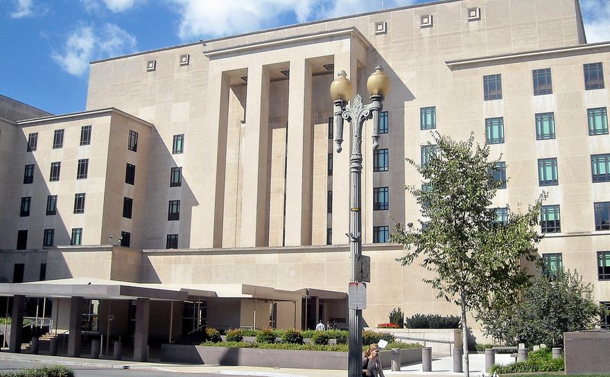 Sediul Departamentului de Stat american, în Washington, D.C.
