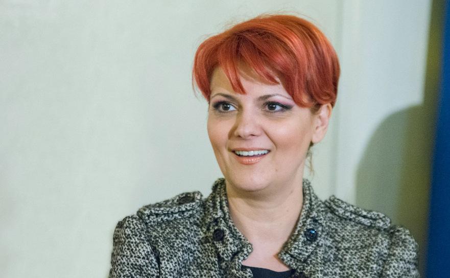 OLguta Vasilescu(Ministrul Muncii),
