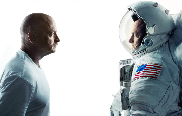 Gemenii Scott şi Mark Kelly