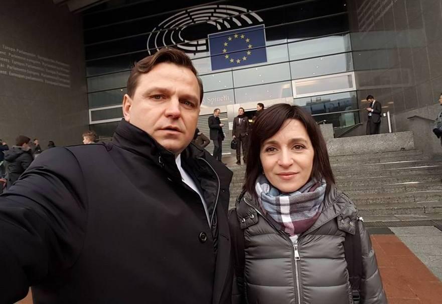Andrei Năstase şi Maia Sandu
