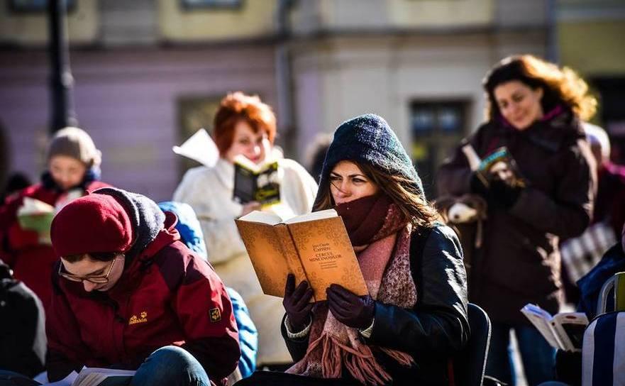 Protest prin cultură la Sibiu