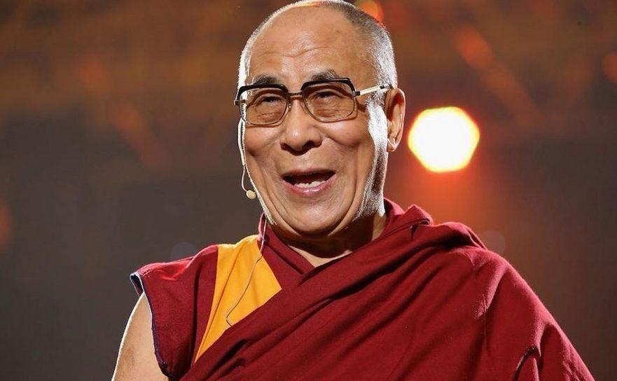 Liderul spiritual tibetan exilat, Dalai Lama.