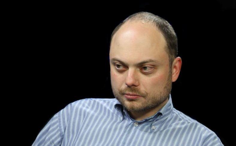 Vladimir Kara-Murza, un critic vocal al preşedintelui rus Vladimir Putin.