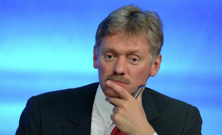 Dmitri Peskov, purtător de cuvânt al preşedintelui rus Vladimir Putin.