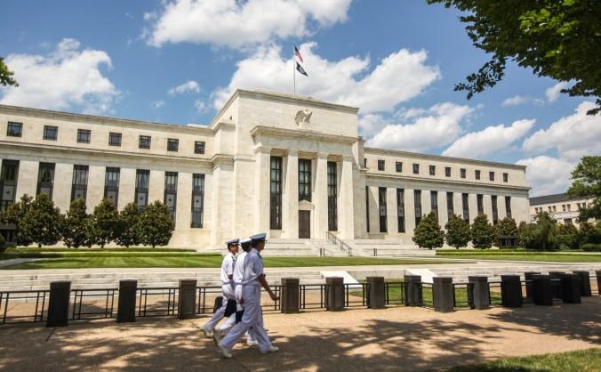 Sediul central al Sistemului Federal de Rezerve în clădirea Eccles din Washington. (Benjamin Chasteen/Epoch Times)