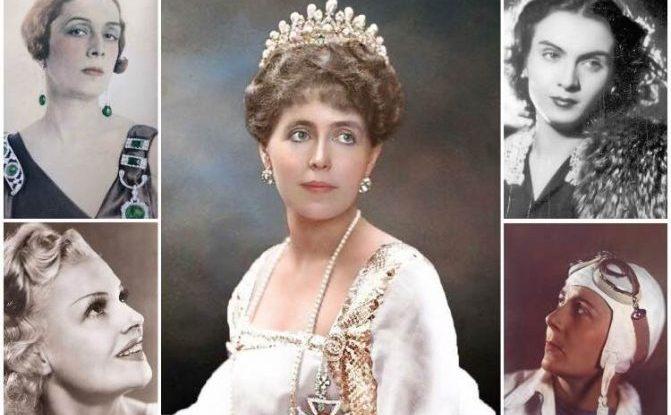 Câteva dintre femeile celebre ale României