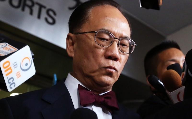Fostul şef executiv al Hong Kong-ului, Donald Tsang.