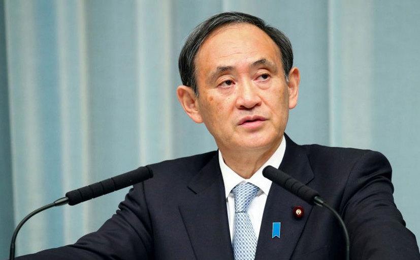 Yoshihide Suga, şeful cabinetului premierului japonez.