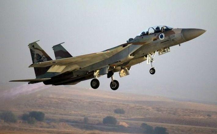 Avion de luptă israelian.
