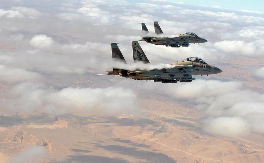 Avioane de luptă israeliene.