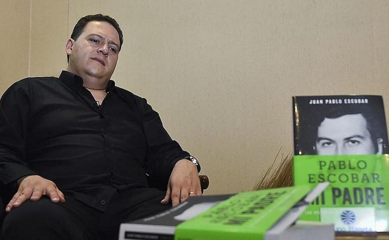 Sebastian Marroquin, fiului renumitul traficant de droguri columbian Pablo Escobar.