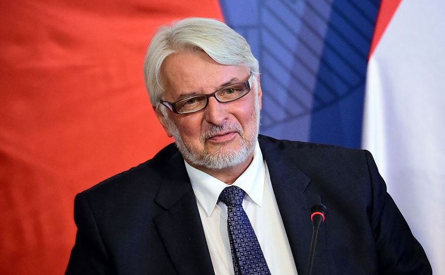 Ministrul polonez de externe, Witold Waszczykowski