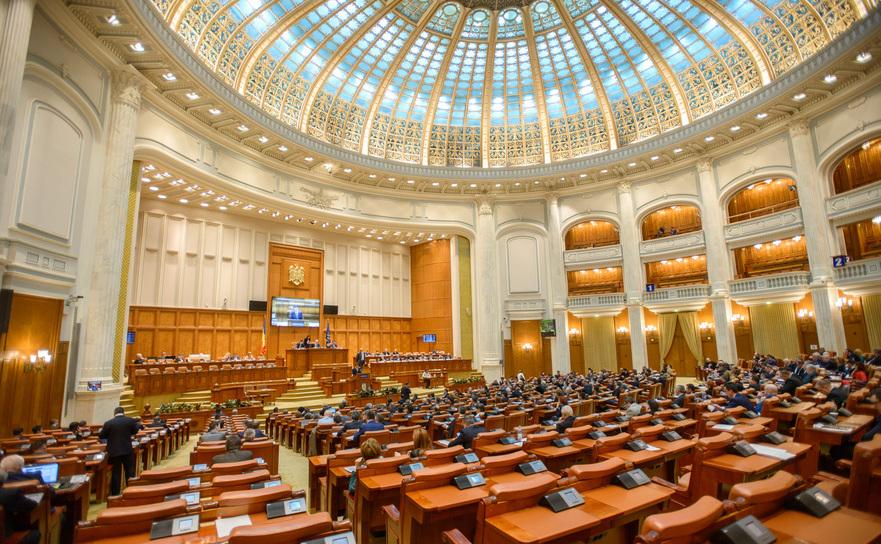 Sedinta in plen la Camera Deputatilor