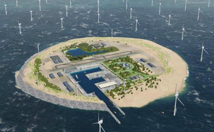 Insula Wind Power Hub