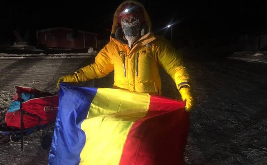 Tibi Uşeriu a doua oară campion mondial la Ultra-maratonul de la Tuktoyaktuk, Cercul Arctic, Canada!