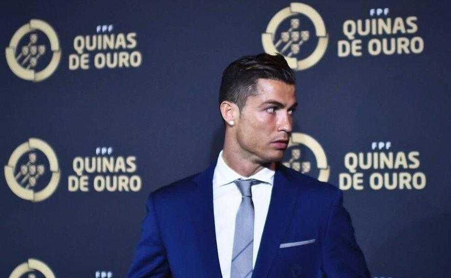 Jucătorul portughez Cristiano Ronaldo.