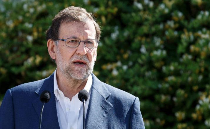Premierul spaniol Mariano Rajoy.