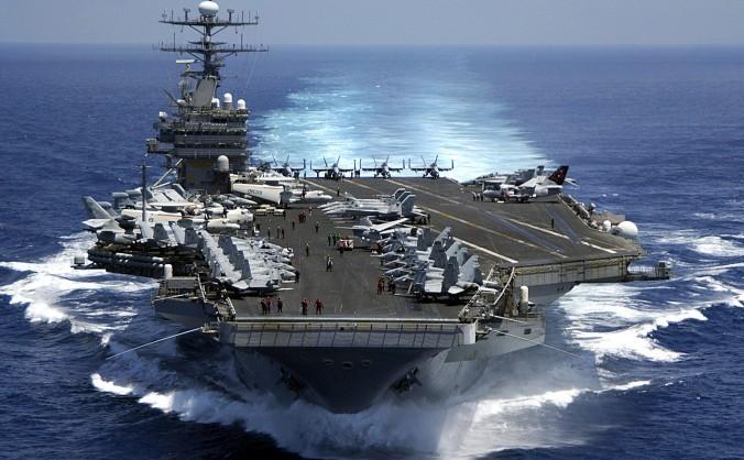 USS Carl Vinson, poză de arhivă